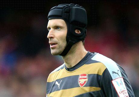 Flamini thanks Mou for Cech 'favour'