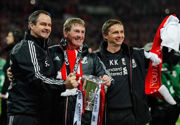 Liverpool must give season further silver polish before Dalglish's calls of progress are taken seriously