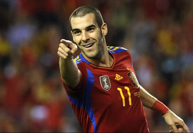 Alvaro Negredo ruled out of Spain's friendly with Venezuela through injury