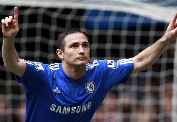 ANG, Chelsea - Lampard dans le flou