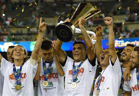 Mexico defeat Jamaica in Gold Cup final