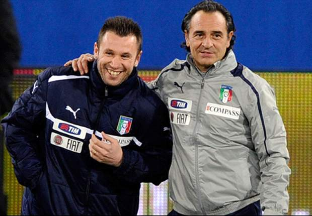Iniesta called to give me encouragement, reveals Cassano