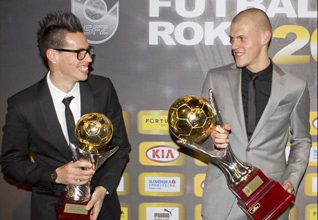 Liverpool's Martin Skrtel claims third Slovakia Player of the Year award