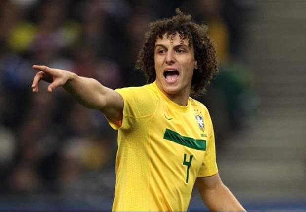 David Luiz: Italia Mendominasi Brasil