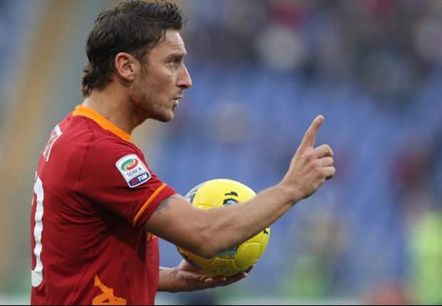 Totti to make Roma return against Milan - report