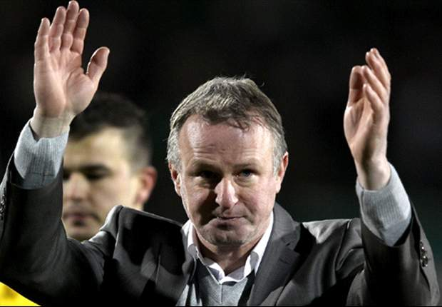 Michael O'Neill calls for Northern Ireland v Russia to be played in May