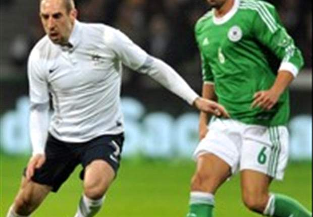 Ribery picks up knock during France's victory over Germany
