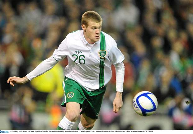 'Fully deserved you ugly man!' - Football stars react to James McClean's inclusion in Ireland's Euro 2012 squad