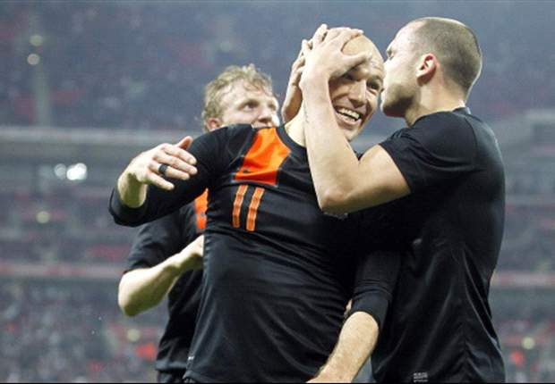 Robben delighted with Netherlands performance after win over England
