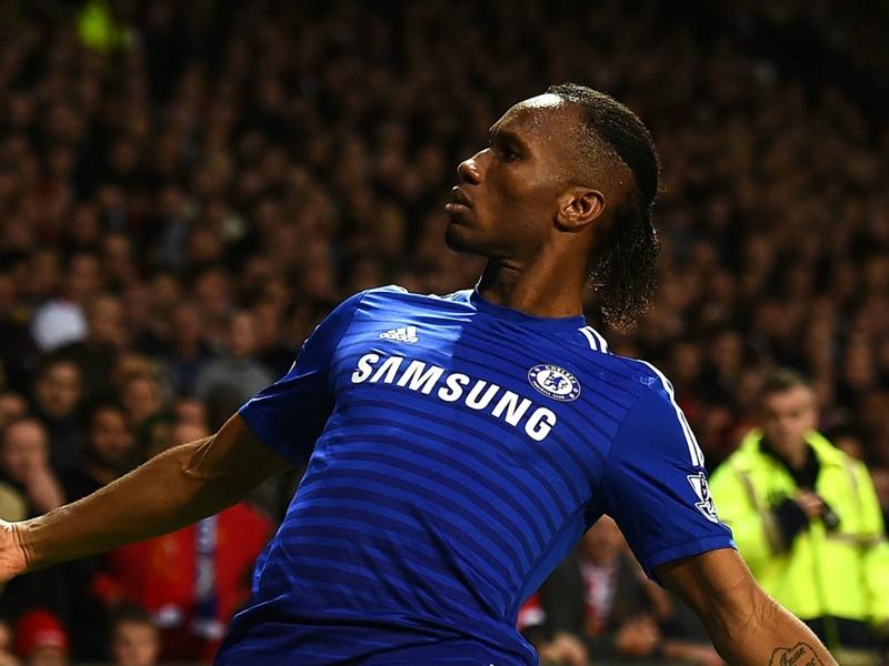 'He was literally a beast' - Zaha names Drogba as his Premier League idol