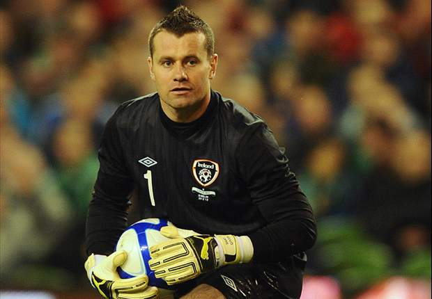 Alan Kelly confident Given will start in Republic of Ireland's Euro 2012 opener
