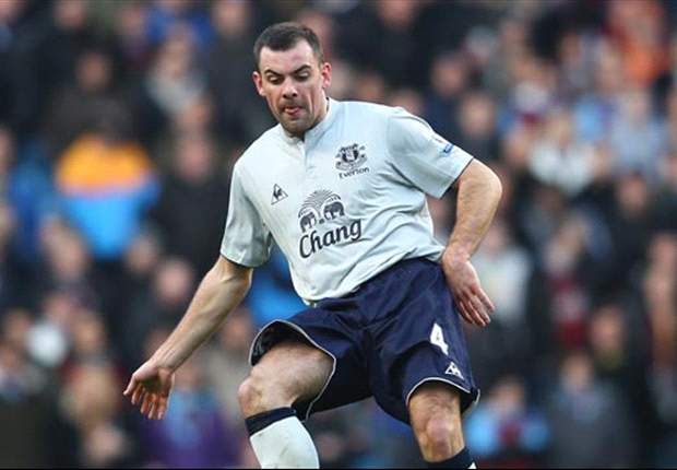 Everton midfielder Darron Gibson hopes to score more goals this season