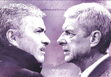 Mourinho-Wenger rivalry is childish