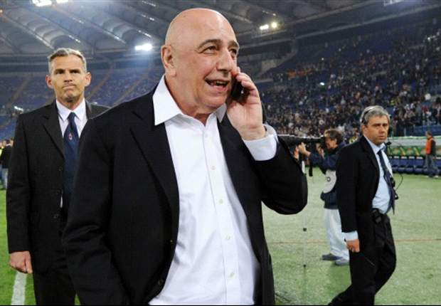Galliani stresses AC Milan will not wear 'unlucky' black jersey again