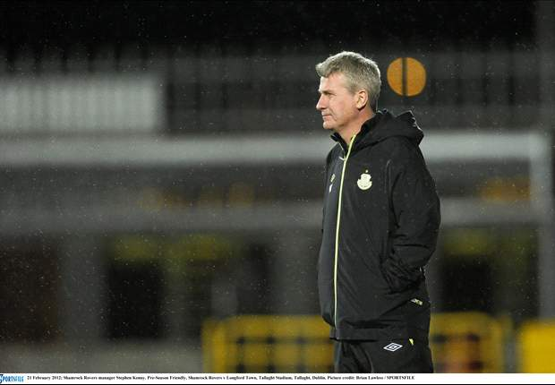 Shamrock Rovers and manager Stephen Kenny part company
