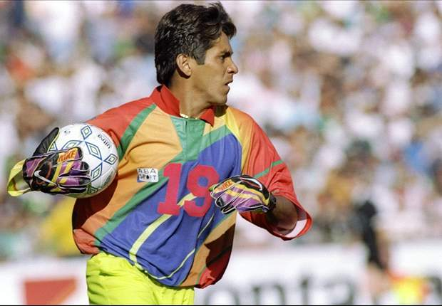 Jorge Campos' colorful jersey ranked as one of football's worst ever