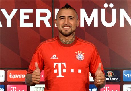 OFFICIAL: Vidal signs for Bayern Munich