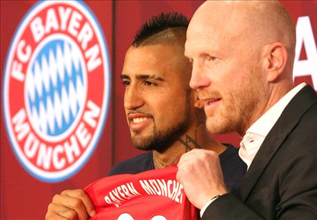 Vidal: I can win the UCL with Bayern