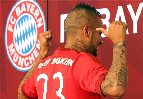 Vidal: I can win CL with Bayern