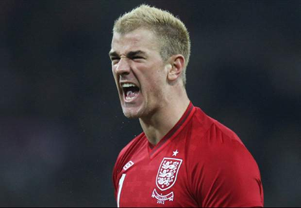 Hart relishing England responsibility ahead of Euro 2012