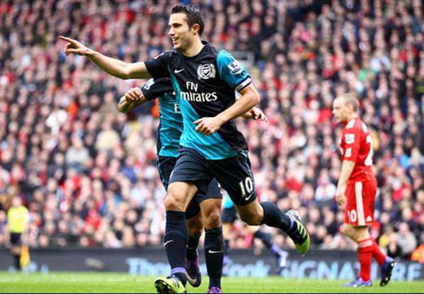 Liverpool 1-2 Arsenal: Van Persie hits stunning stoppage-time winner as comeback dents Reds' top-four hopes