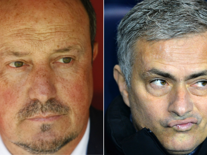 Mourinho launches attack on Benitez