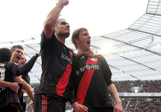 Leverkusen 2-0 Bayern Munich: Late goals for Kiessling & Bellarabi sink Bavarians