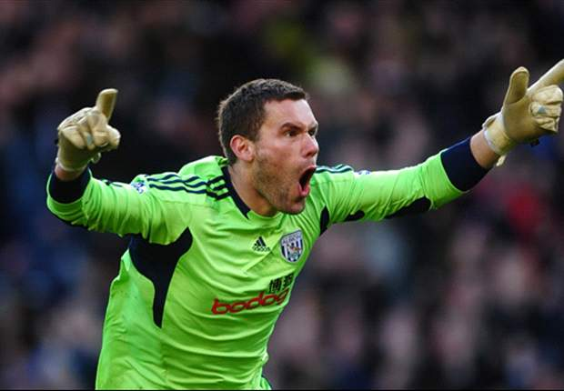 West Brom keeper Foster eyeing swift return from injury