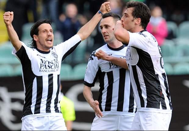 Serie A, 26ª - Mauri regala alla Lazio il secondo derby stagionale, Udinese fermata dall'Atalanta, Fiorentina e Siena ok