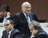 PrinceAli, Sepp Blatter and Michel Platini at FIFA conference