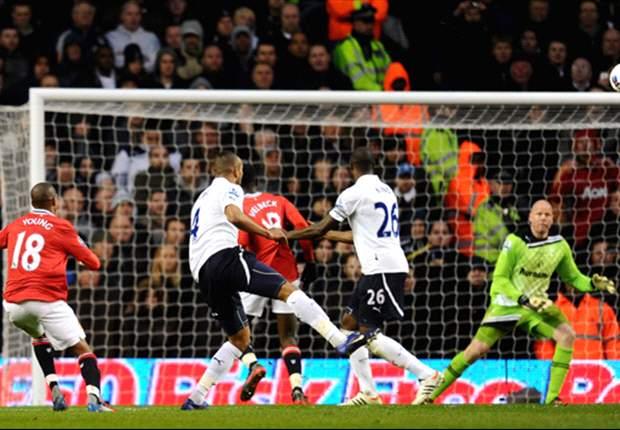 Libas Tottenham Hotspur, Manchester United Terus Tekan Manchester City
