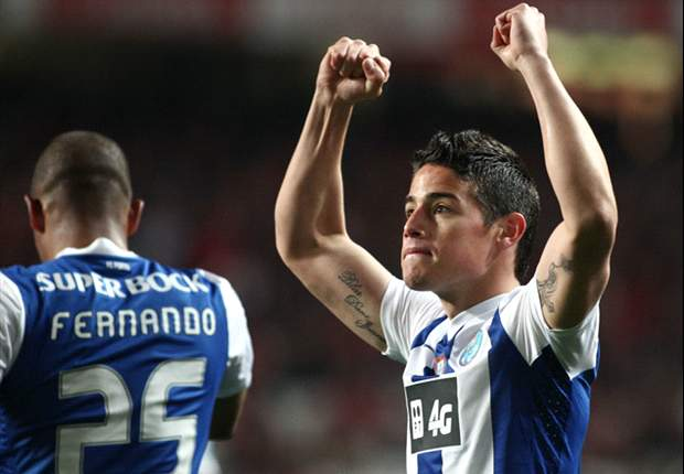 James Rodriguez: Falcao has shown he is on par with Messi and Ronaldo
