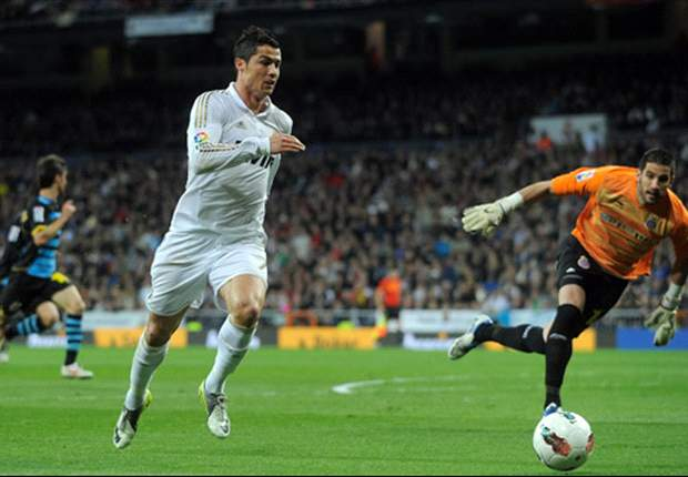 Cristiano Ronaldo pulls away from the suspended Lionel Messi in the race for the Golden Shoe
