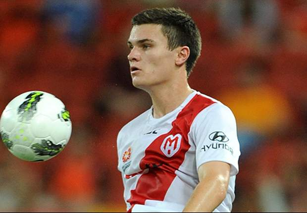 Newcastle United sign Curtis Good from Melbourne Heart