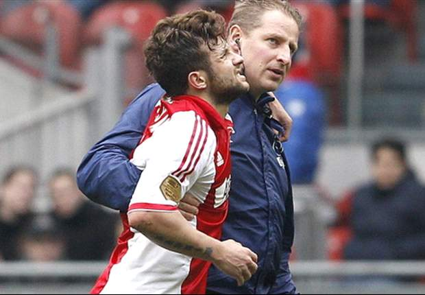 Ajax's Sulejmani may miss the remainder of the season