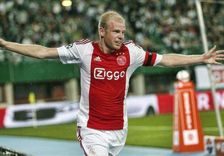 Klaassen Gagal Menangkan Ajax
