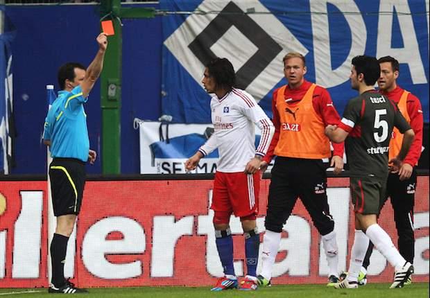 Hamburg SV Banding Sanksi Paolo Guerrero
