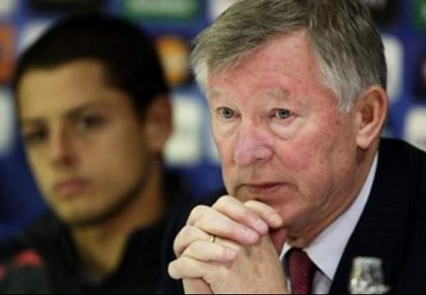 Ferguson afirma dor de cabeça com Chicharito