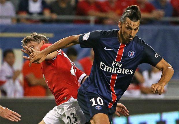 Manchester United 0-2 PSG: Ibrahimovic strikes as Van Gaal's men flounder