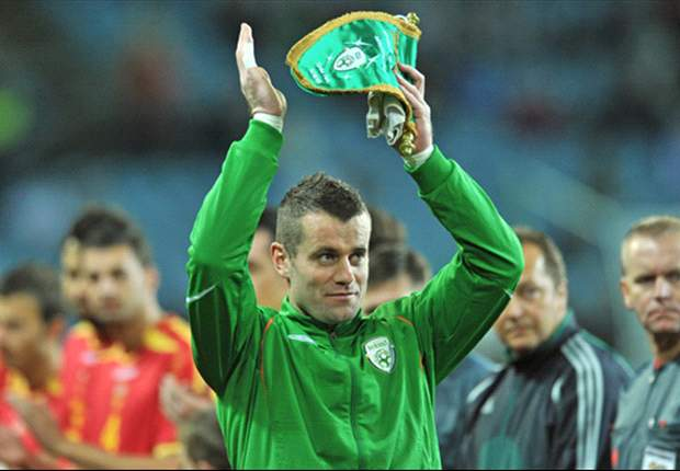 Ireland's Shay Given relishing the opportunity to play in Euro 2012