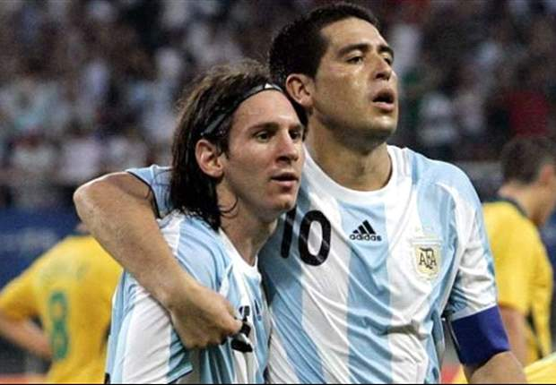 Riquelme fails to make Argentina squad