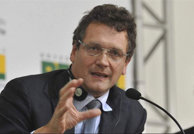 Brazilian congressman threatens Fifa's Valcke with kick up the backside
