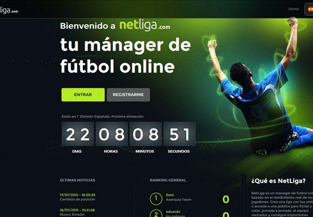 Netliga, disfruta del fútbol y conviértete en el manager de tu equipo