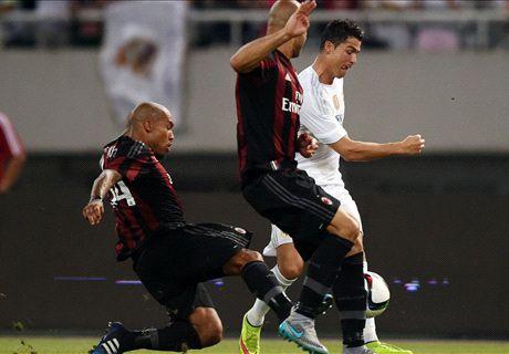 Real Madrid-Milan LIVE! 0-0