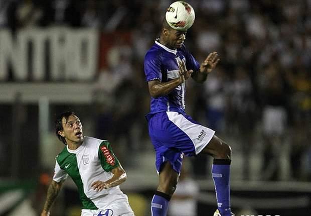 Dedé está fora do jogo do Vasco contra o Lanús