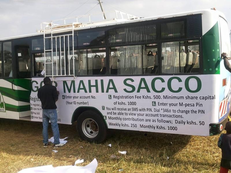 Gor Mahia finally rebrands team bus