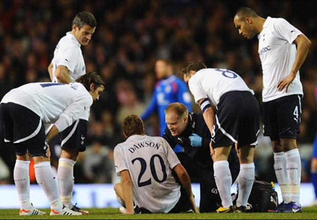 Dawson set to miss Euro 2012 as Tottenham confirm defender out for '10 to 12 weeks'