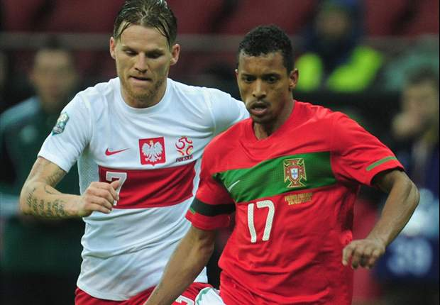 Injured Nani out of Portugal squad, Vieirinha earns debut call-up