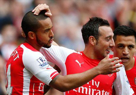 Walcott & Cazorla sign new Arsenal deals