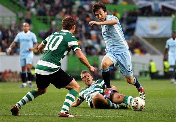 Sporting 1-0 Manchester City: Xandao backheel gives Portuguese impressive victory as Kompany limps off for visitors